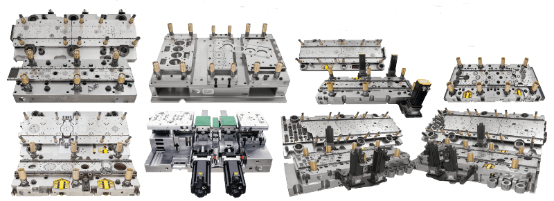Progessive lamination tools